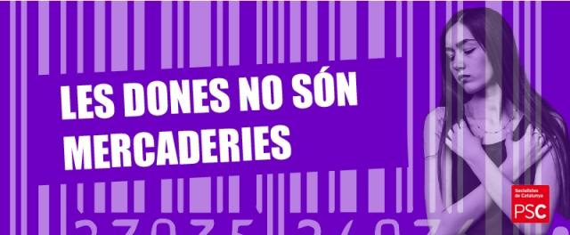 mercantilització del cos de les dones PSC Sant Vicenç dels Horts Miguel Comino