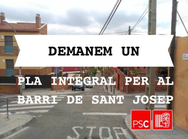 pla integral Sant Josep PSC Sant Vicenç dels Horts