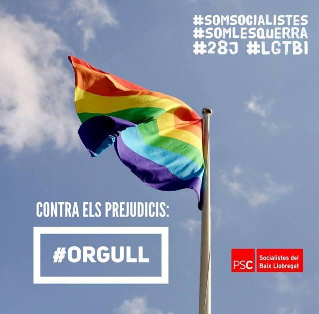 PSC Sant Vicenç dels Horts LGTBI Miguel Comino